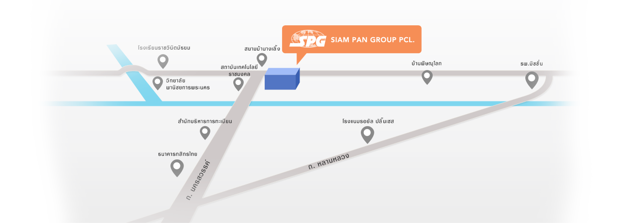 Siam Pan Group PCL. map